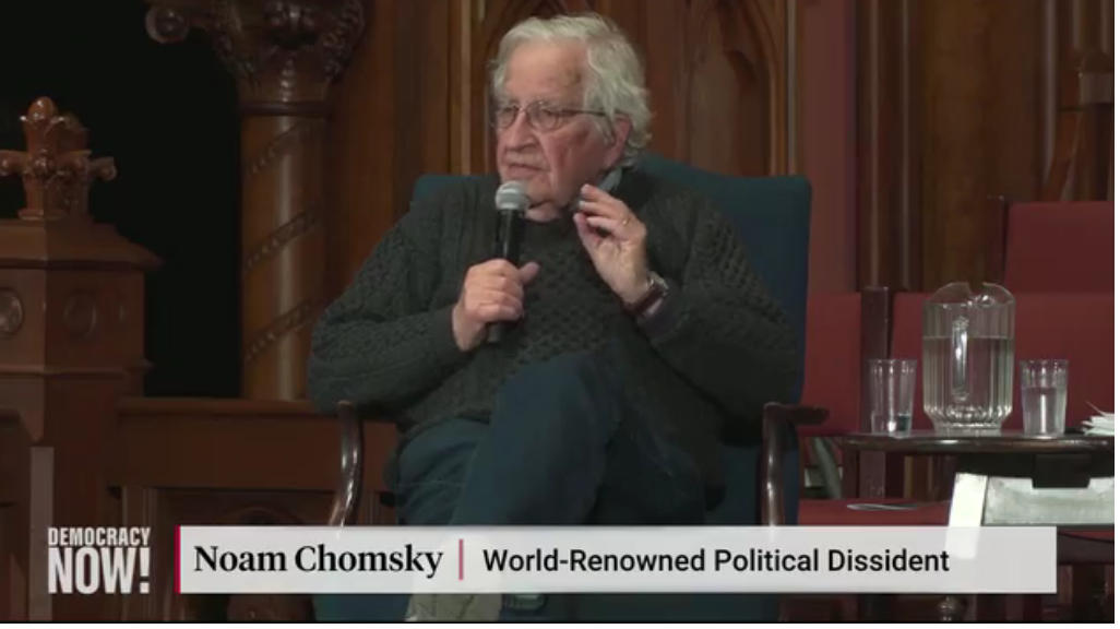 Noam Chomsky takes ten minutes to explain everything you need to know about the Republican Party in 2019