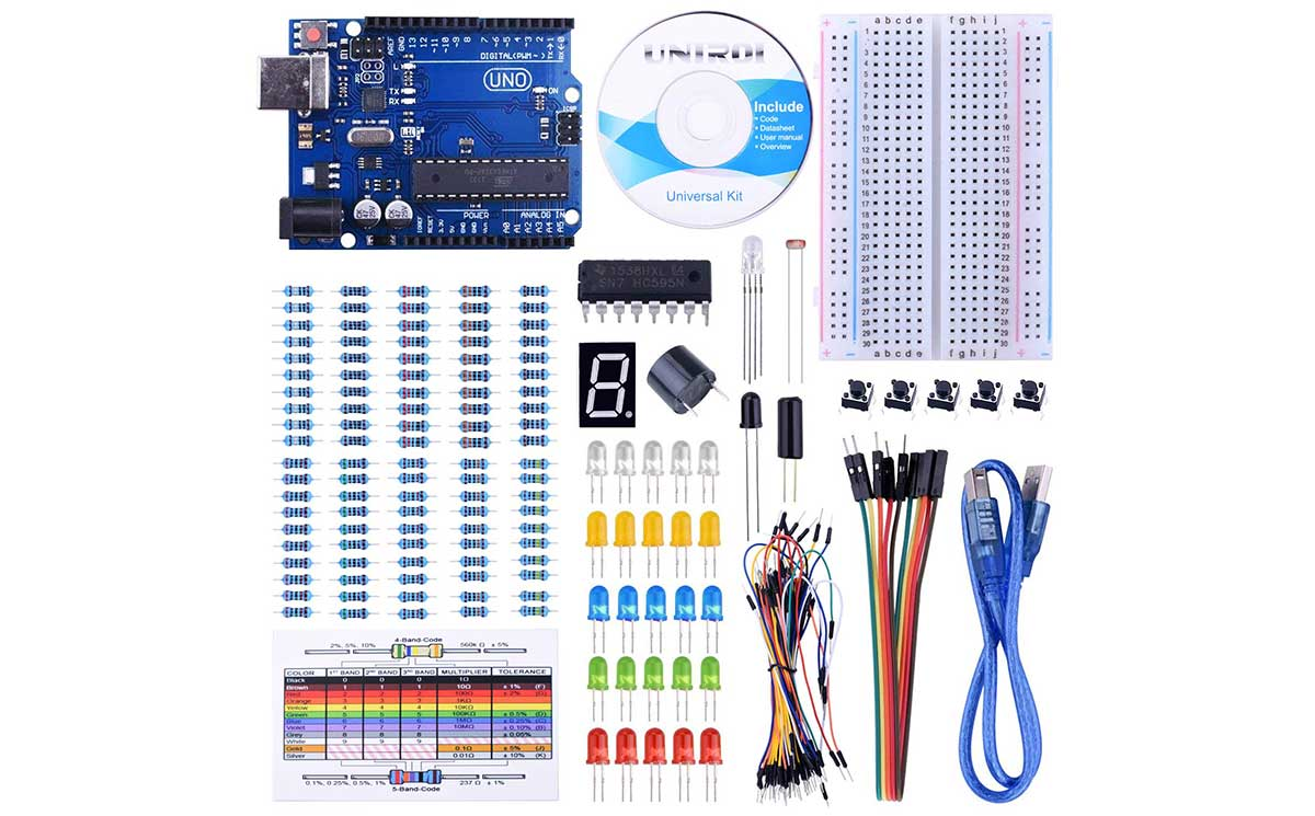 Super low price on an Arduino clone starter kit / Boing Boing