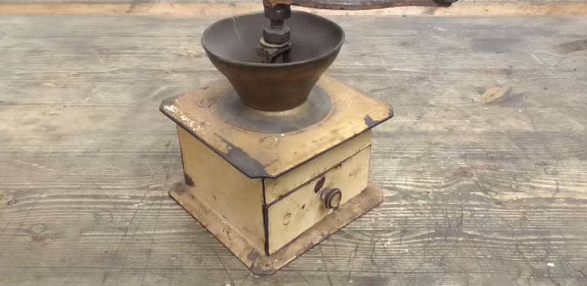 Nasty Old Coffee Grinder Restored Boing Boing