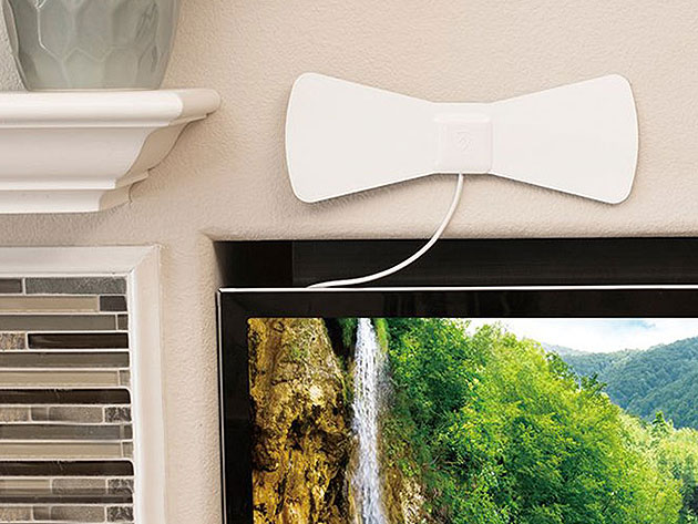 Get free HDTV the old school way with this indoor antenna / Boing Boing
