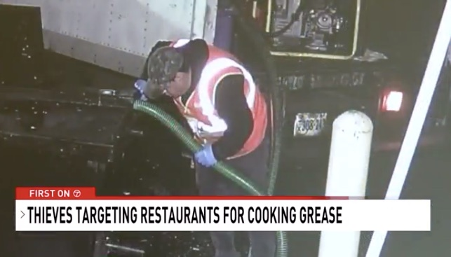 Thief Ed Used Burger King Grease Into 1 600 Gallon Truck Container To Re For Biofuel
