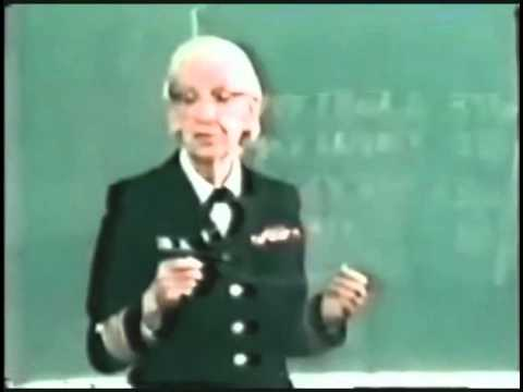 What is a nanosecond anyway? Computing pioneer Grace Hopper shows us (1983)