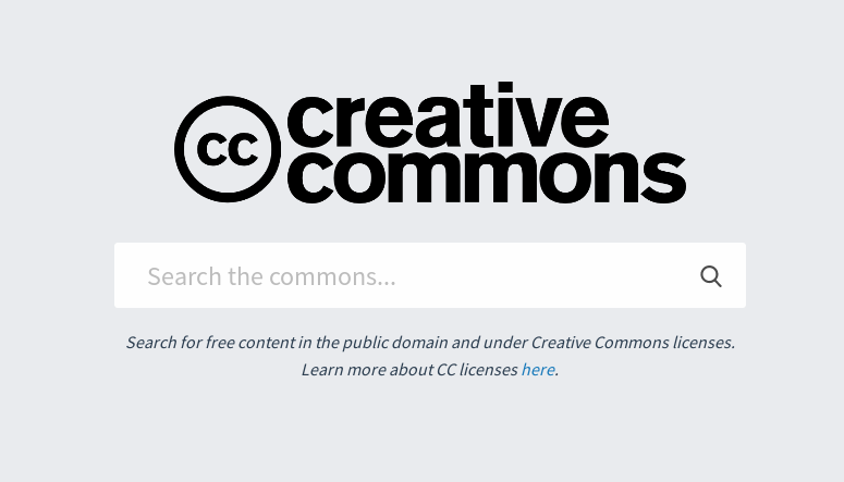 The new Creative Commons search engine is out of beta, with