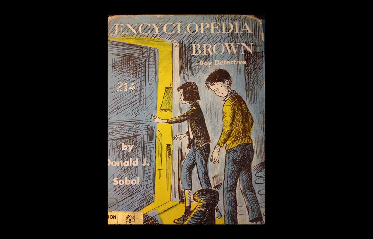 The creator of Encyclopedia Brown wanted to remain a mystery