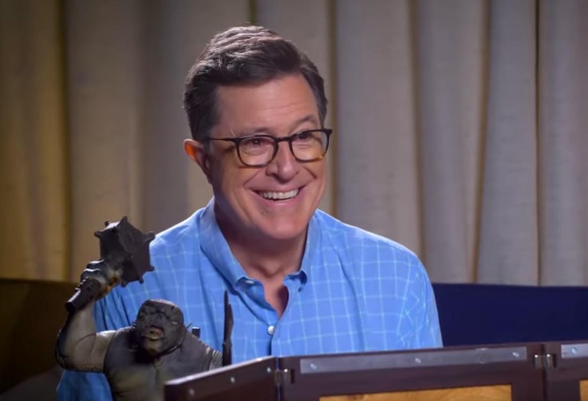 Stephen Colbert plays D&D with Matt Mercer for Red Nose Day