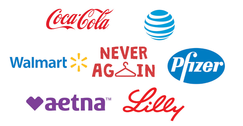 These corporations backed the politicians who will murder women by
