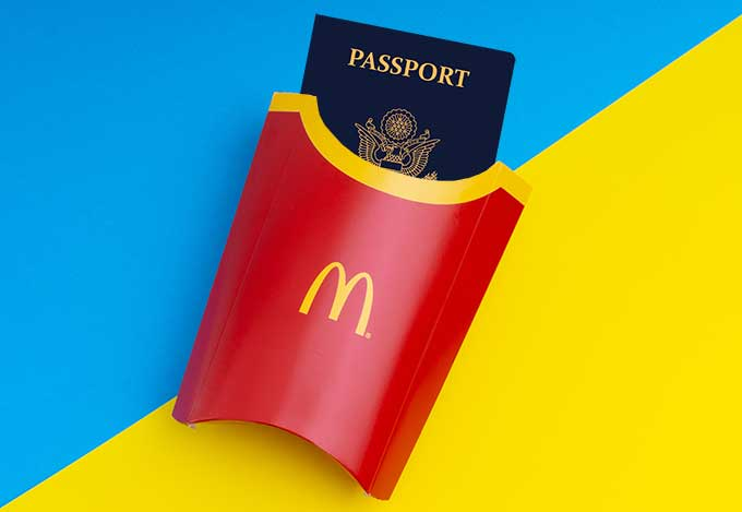 McDonald's in Austria will help US citizens contact US embassy