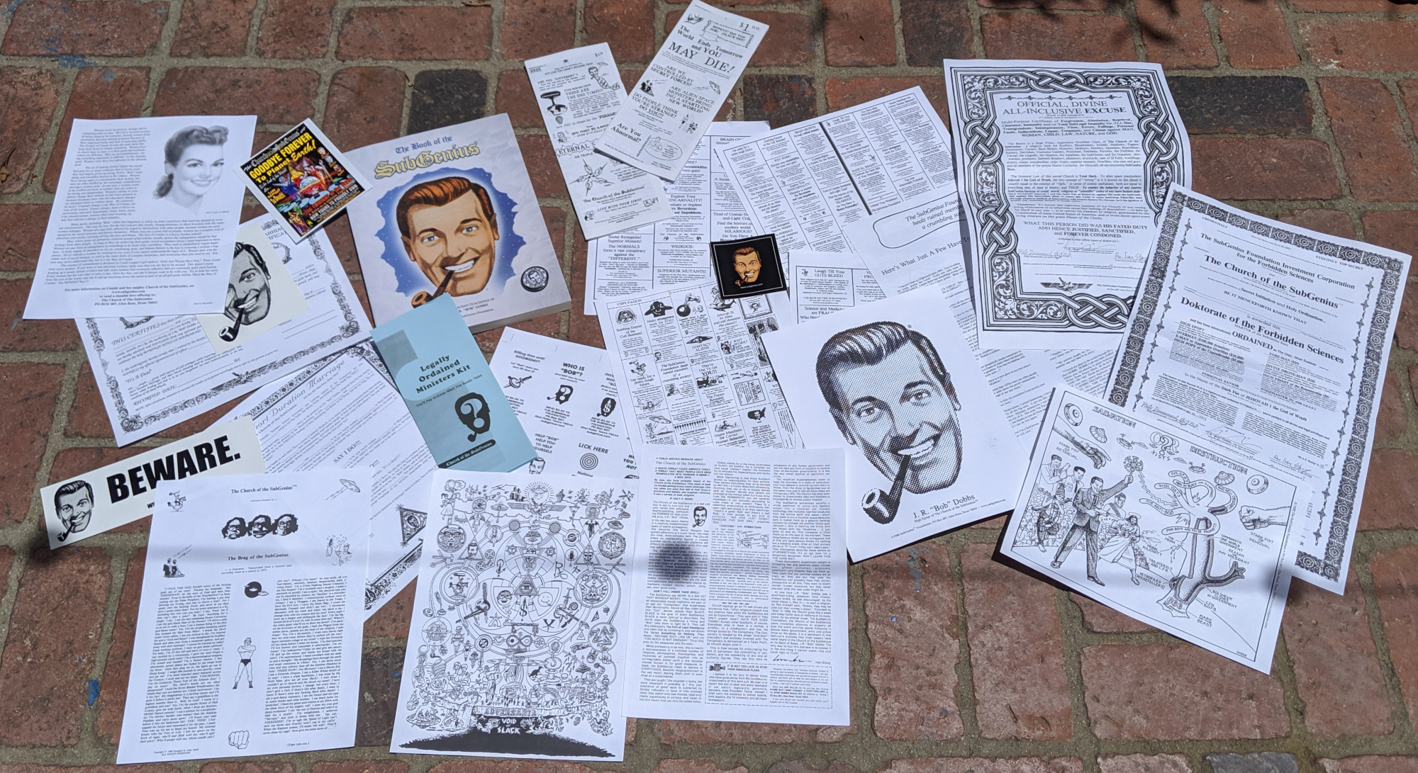 The Church of the Subgenius's Salvation Pack is the best $35 I ever