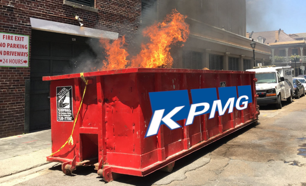 KPMG is in the middle of an unbelievably dirty cheating