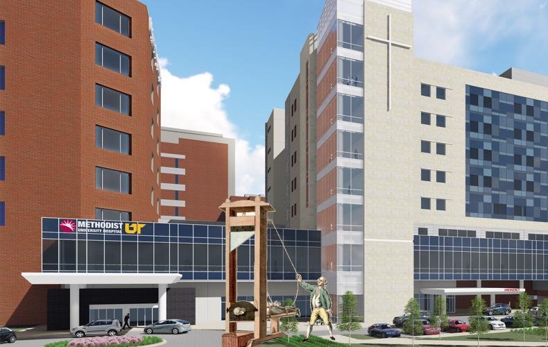 How Memphis's Methodist University Hospital, a