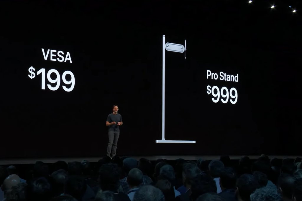 What the crowd made of Apple's $1000 monitor stand / Boing Boing