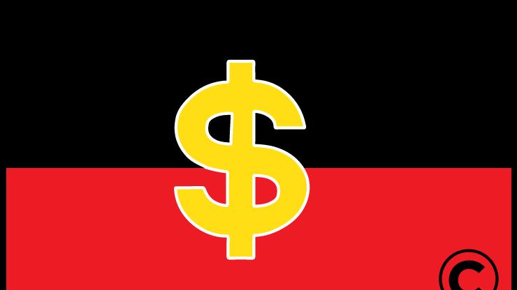 A Non Aboriginal Business Has Licensed The Copyright On Australia S