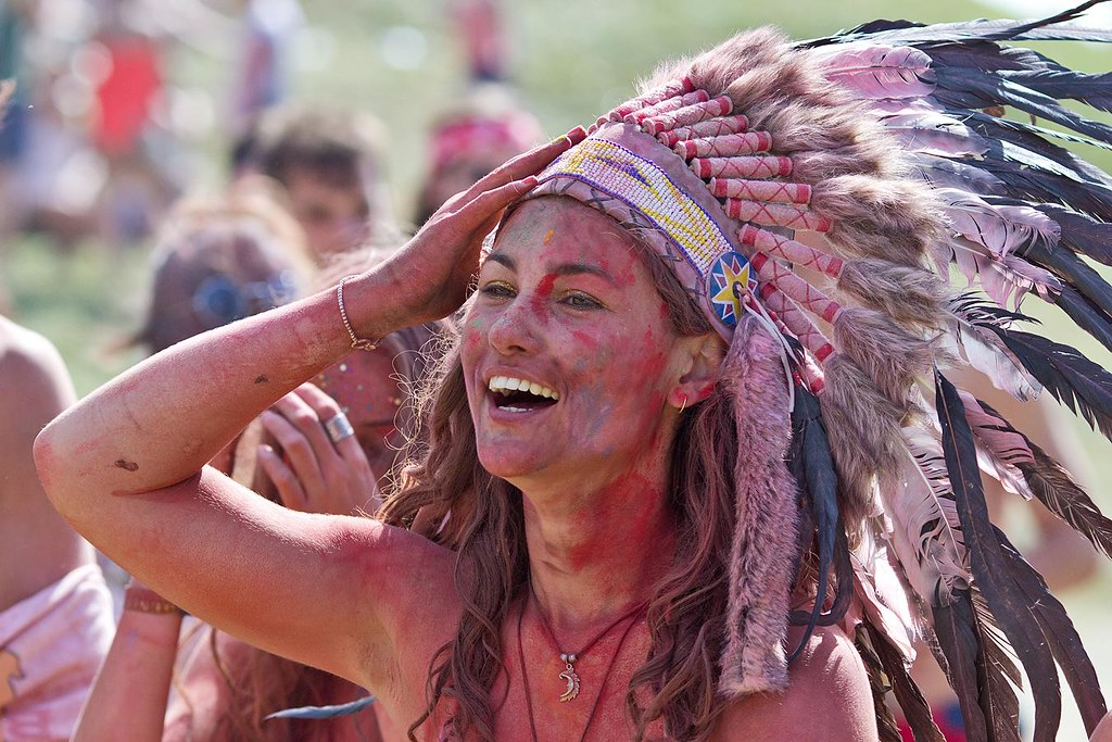 American Indian headdresses