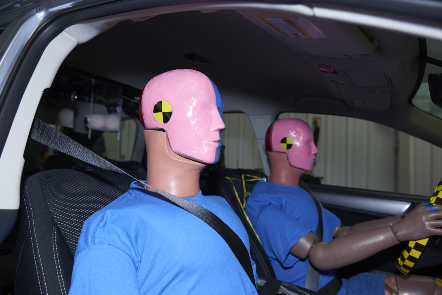 Women are much more likely to be injured in car crashes, probably because crash-test dummies are mostly male-shaped