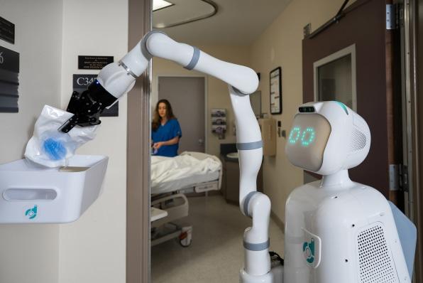 robotic nursing aide wins over both skeptical nurses and