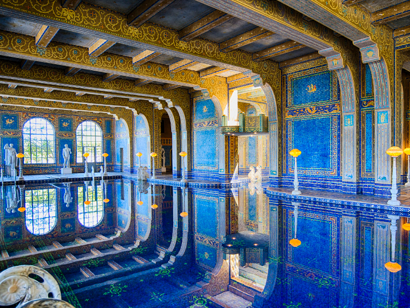 Your chance to swim in a Hearst Castle pool is now