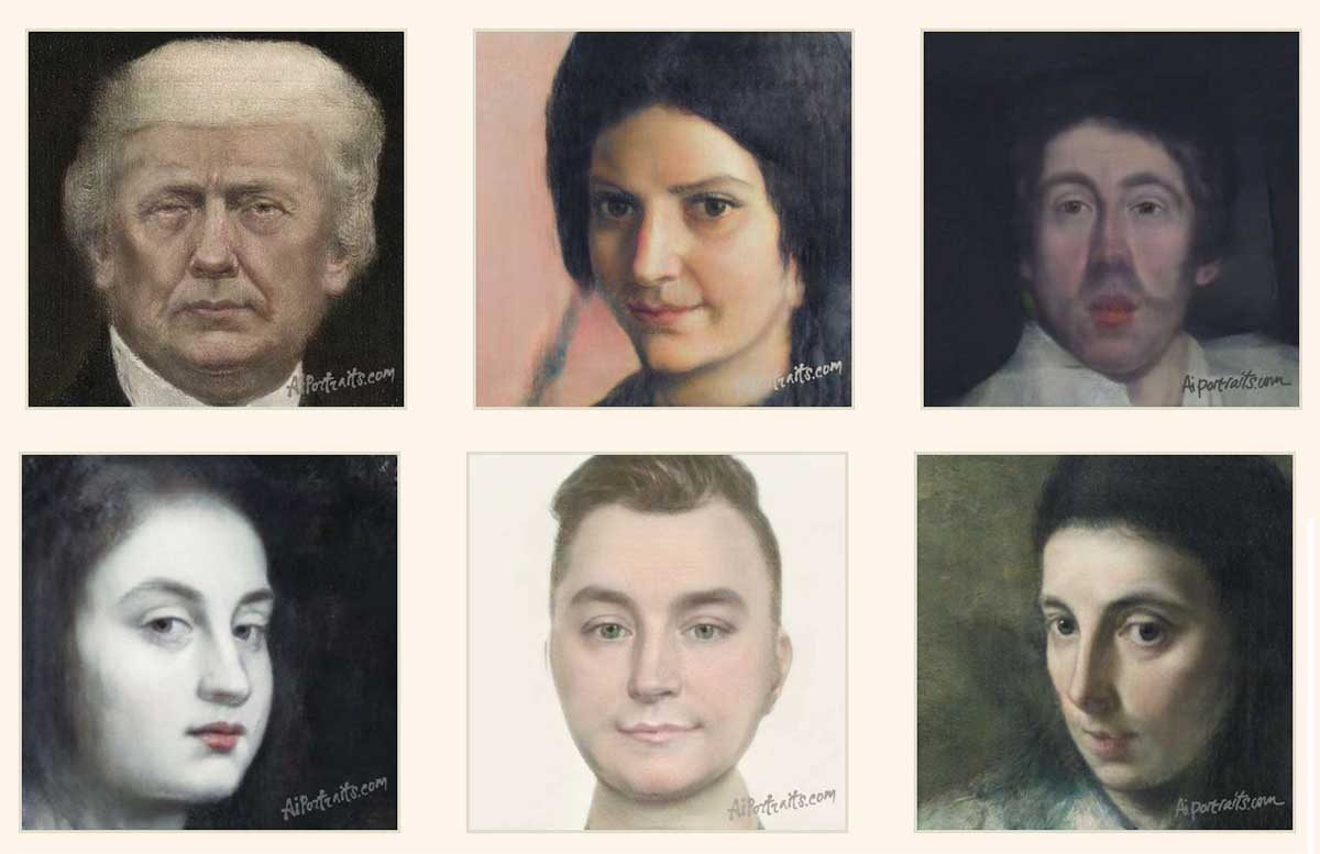 This AI turns your headshot into a portrait painted by a master