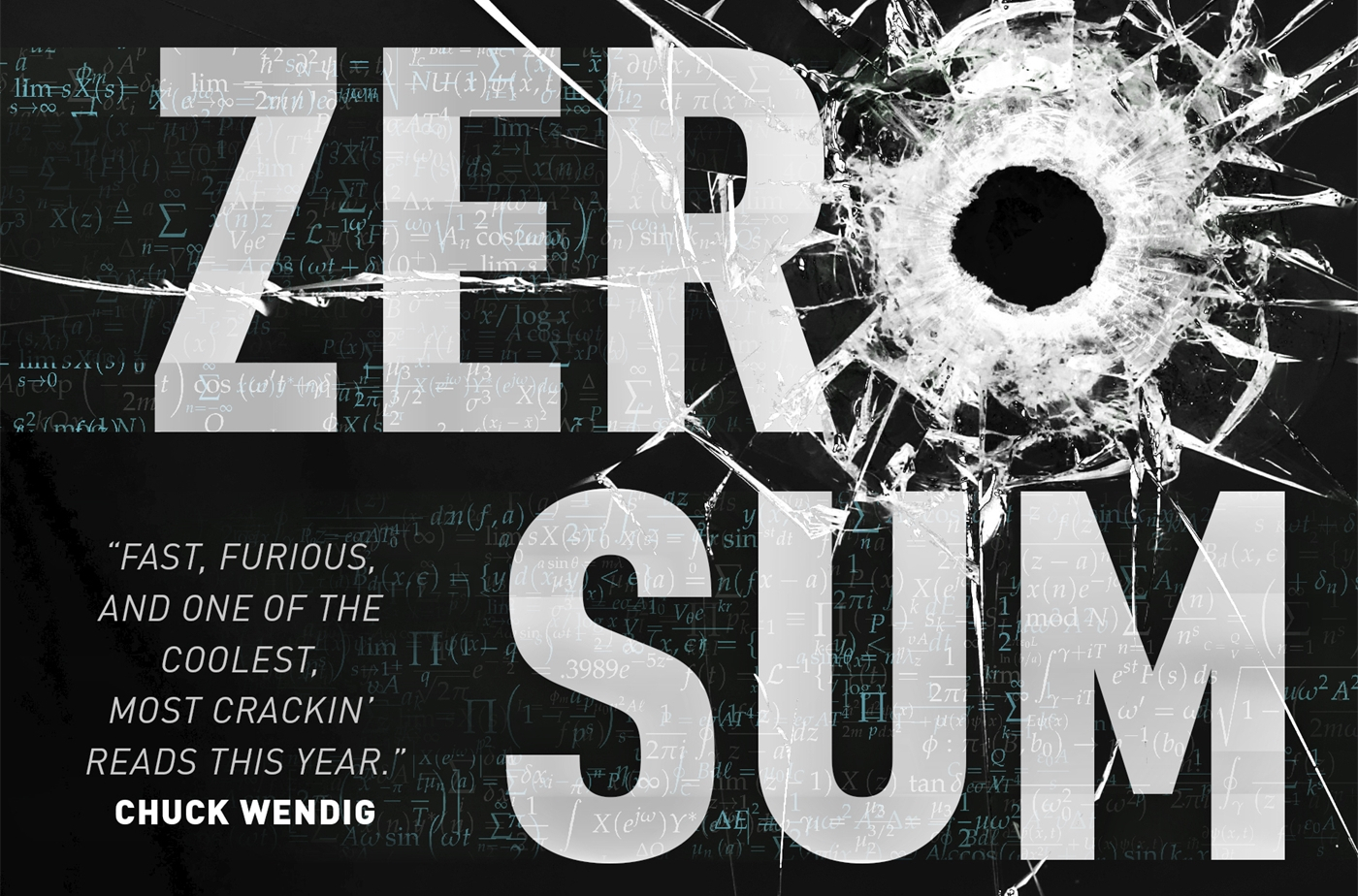 Zero Sum Game: action-packed sf thriller about a ninja hero whose superpower is her incredible math ability