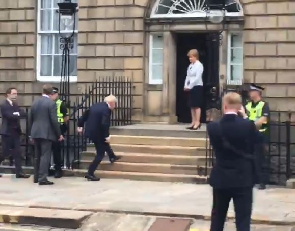 Scots Welcome New Prime Minister Boris Johnson To