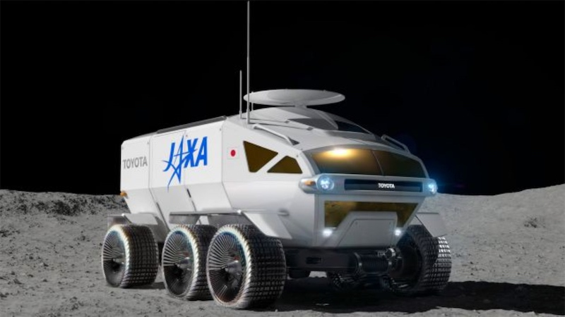 Sweet new moon rover from Toyota and the Japan Aerospace Exploration Agency