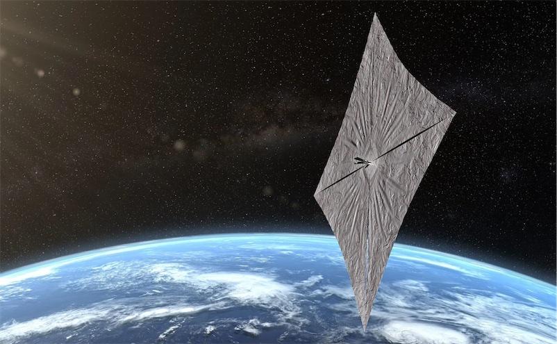 Solar sail test successful so far!