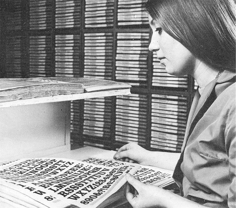 The DIY graphic design/publishing revolution of Letraset
