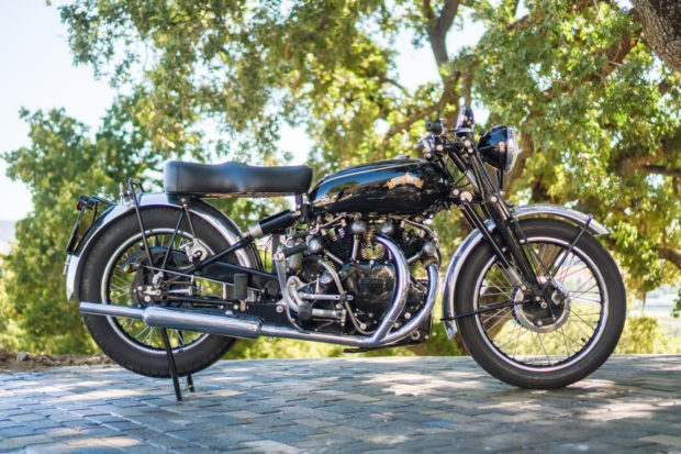 You can get ahold of this 1951 Vincent Black Shadow