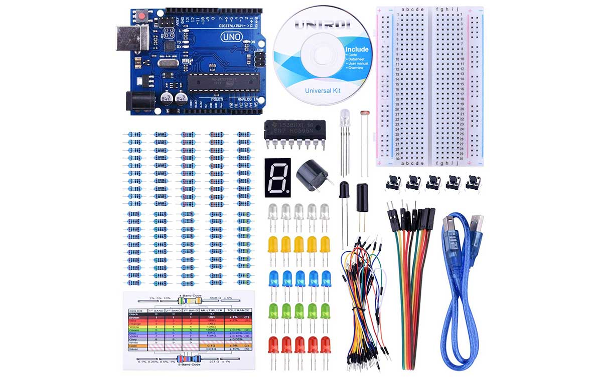 Great price on an Arduino starter kit