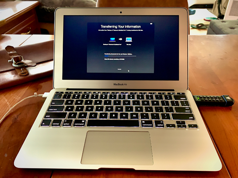 A software update has given new life to my ancient MacBook
