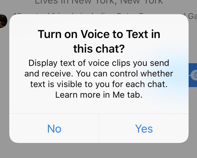 Facebook voice-to-text Messenger users got no warning of