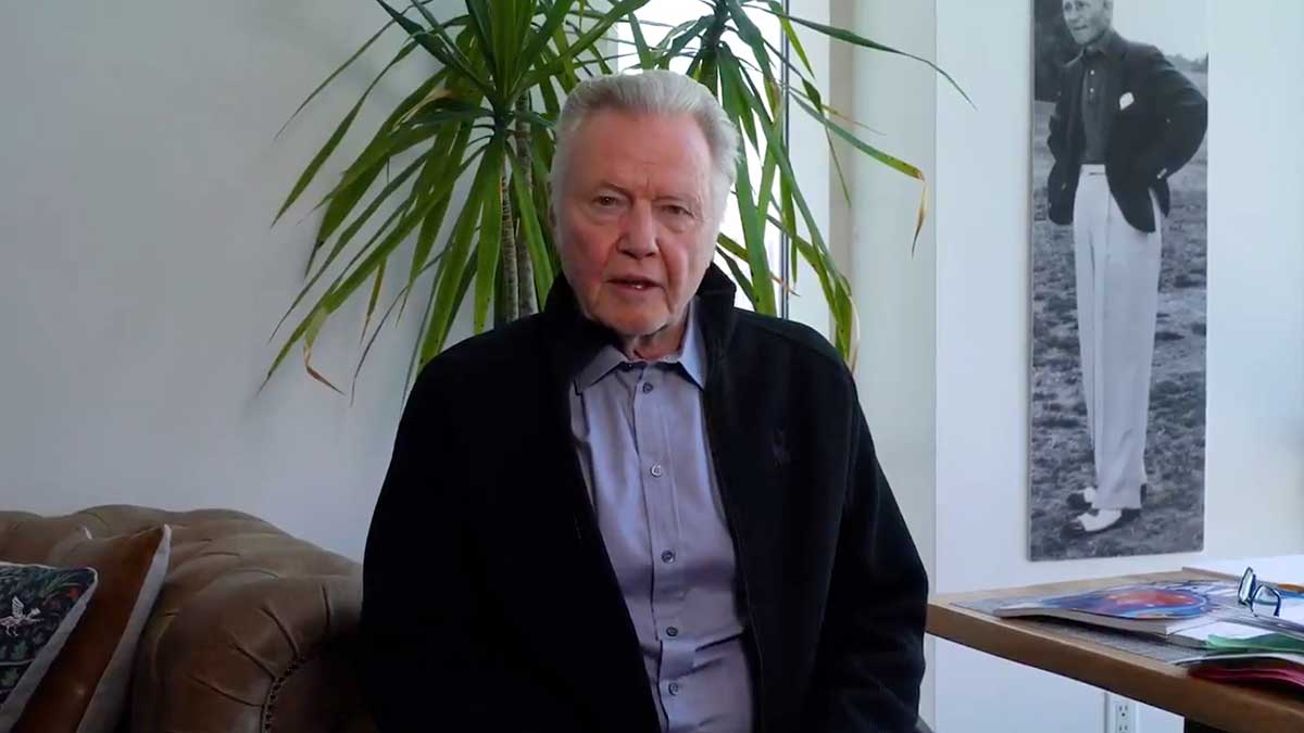 "Jon Voight has a message for the ""black community"" and the ""angered left"" -- racism was ""solved long ago by our forefathers"""