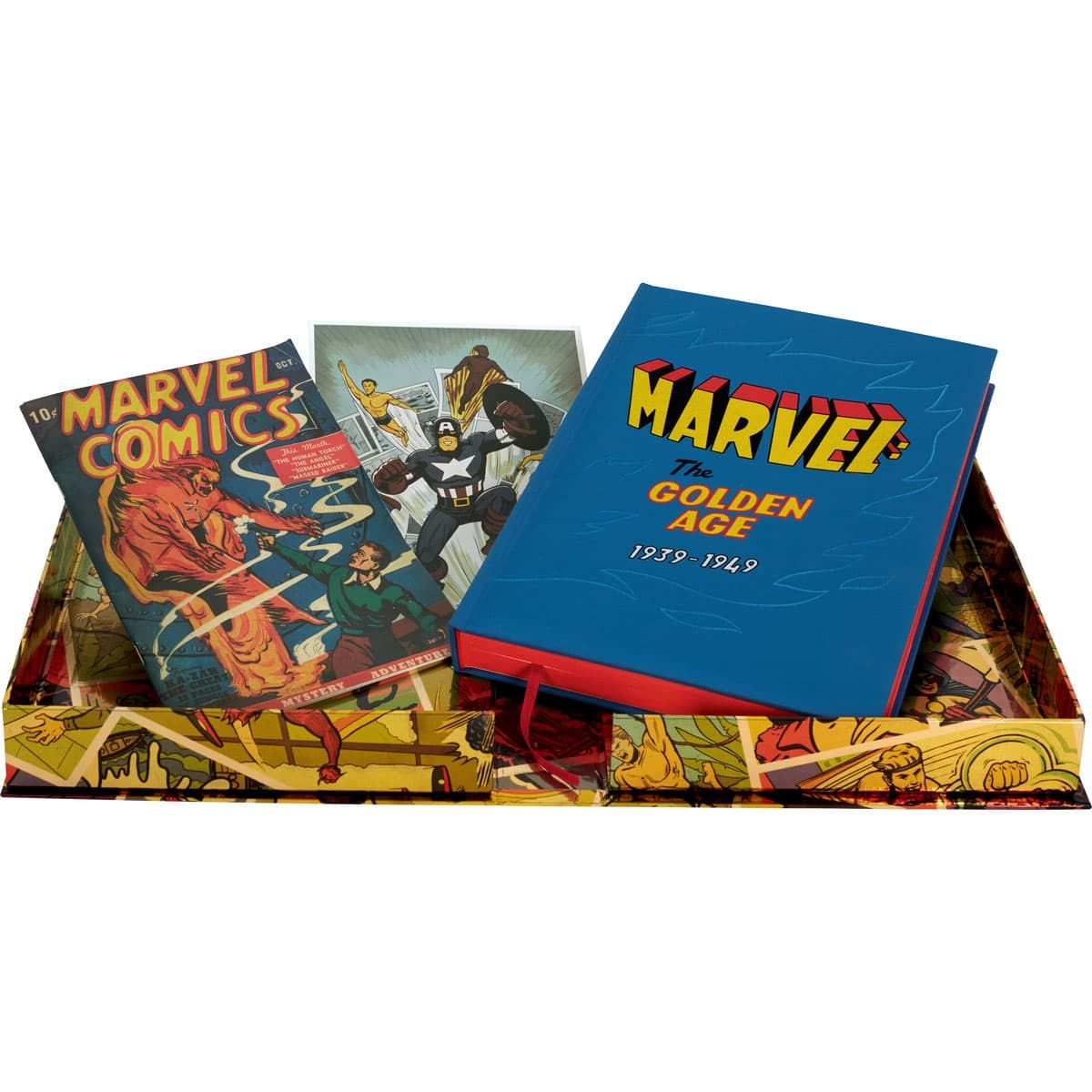 The Folio Society is releasing a facsimile of Marvel Comics #1