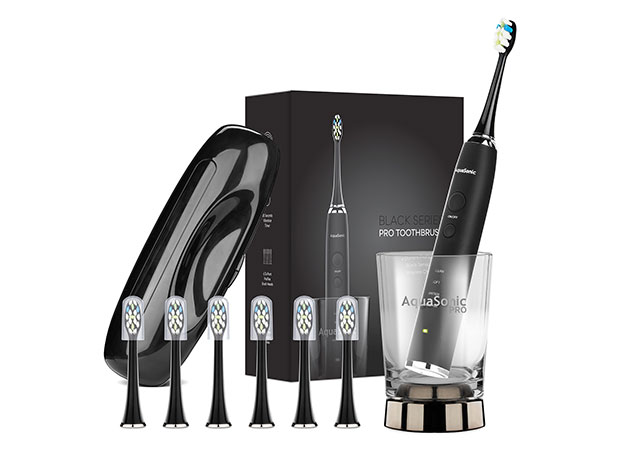 Save $45 on this wireless charging sonic toothbrush kit