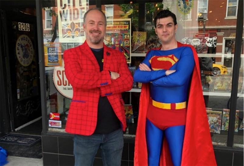 Thieves attempt to sell off stolen comic book collection... at the victim's own comic shop