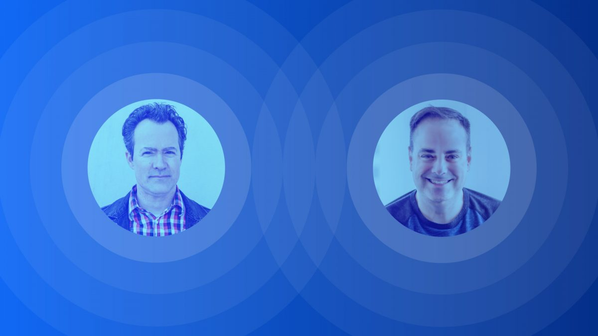 Image with the photos of CliveThompson and Joel Spolsky