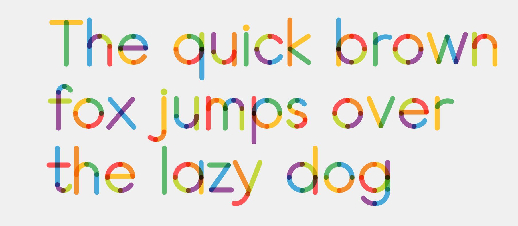 Leon Sans, a font generated by code / Boing Boing