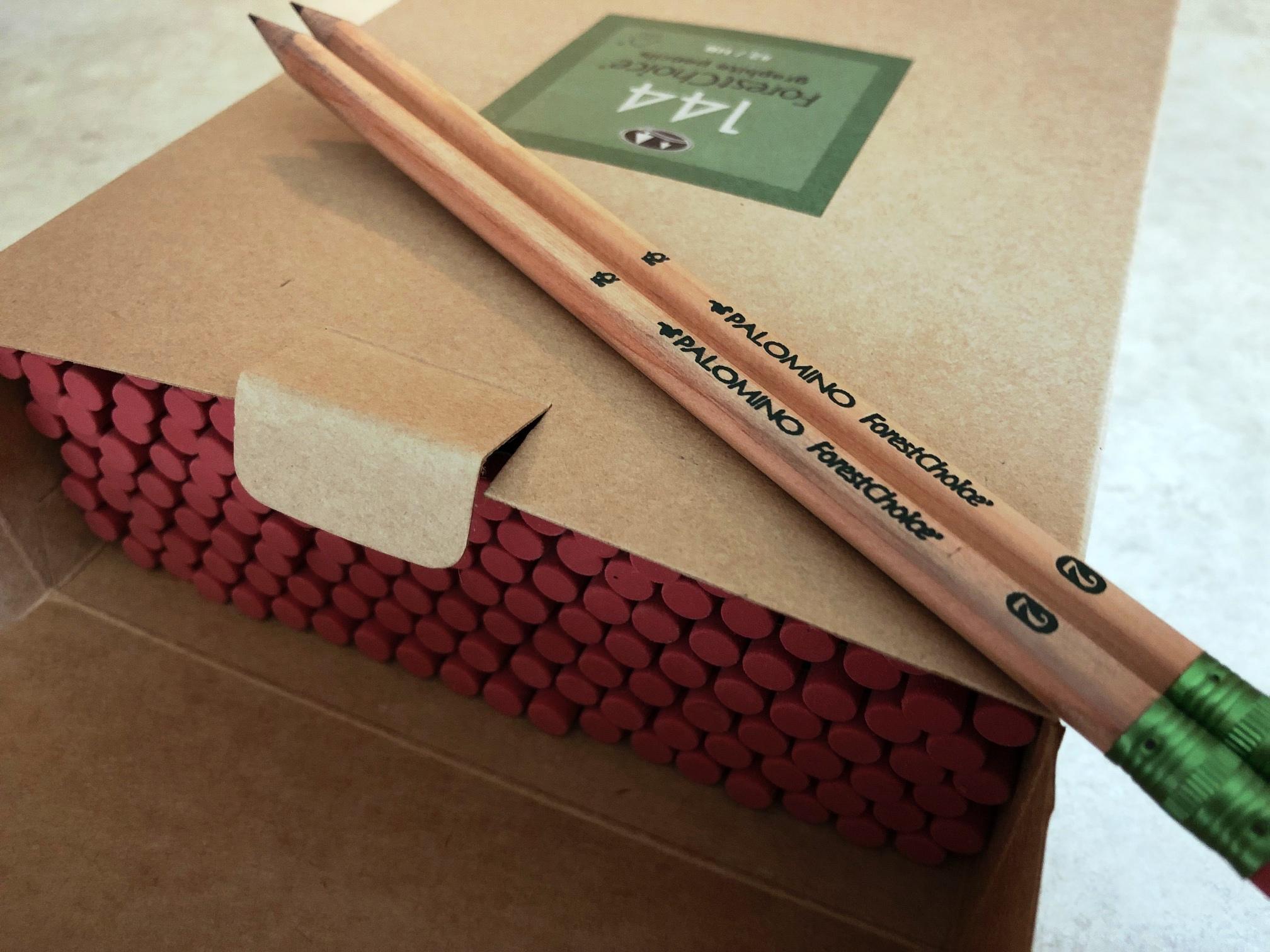 Box of ForestChoice pencils
