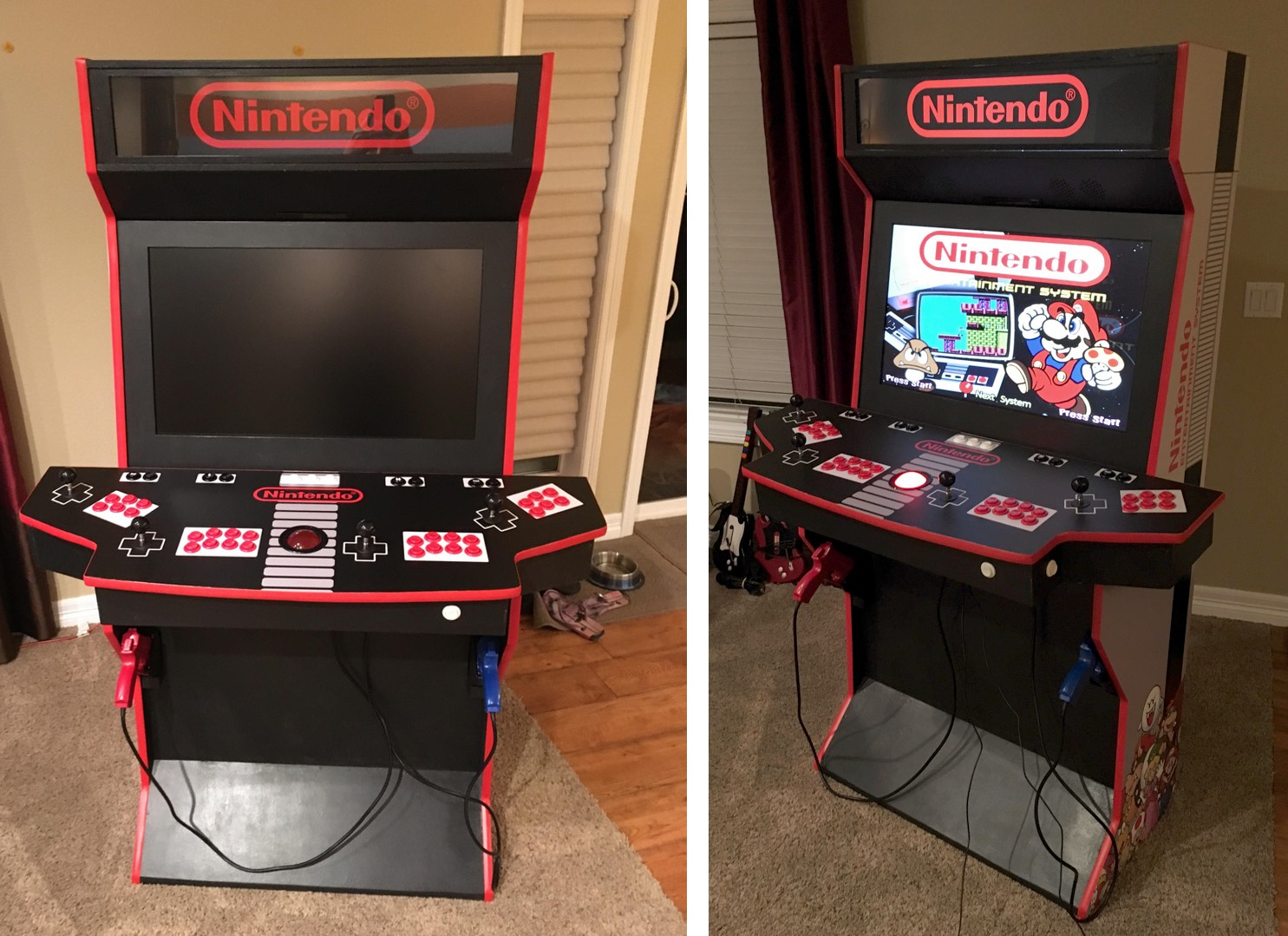 This guy re-made a classic Nintendo home arcade video game