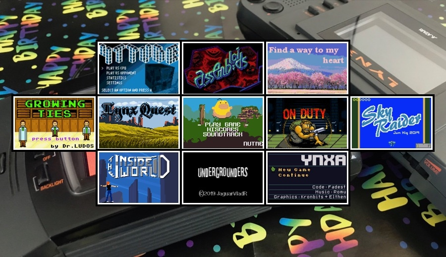 11 new games released this year for     the Atari Lynx