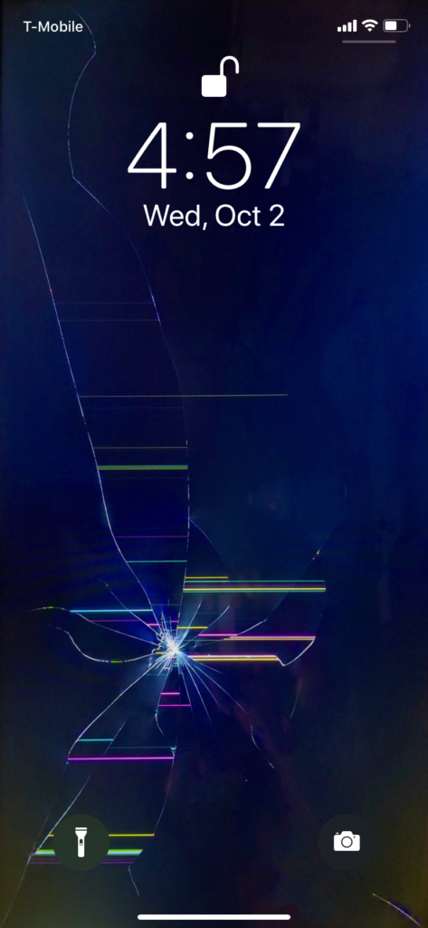 Pretend Your Phones Screen Is Cracked With This Wallpaper