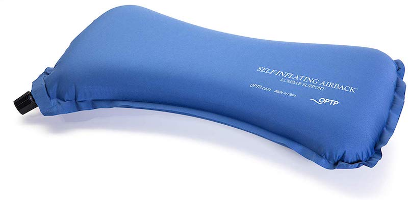 Inflatable Lumbar Back Support That Makes Travel A Lot