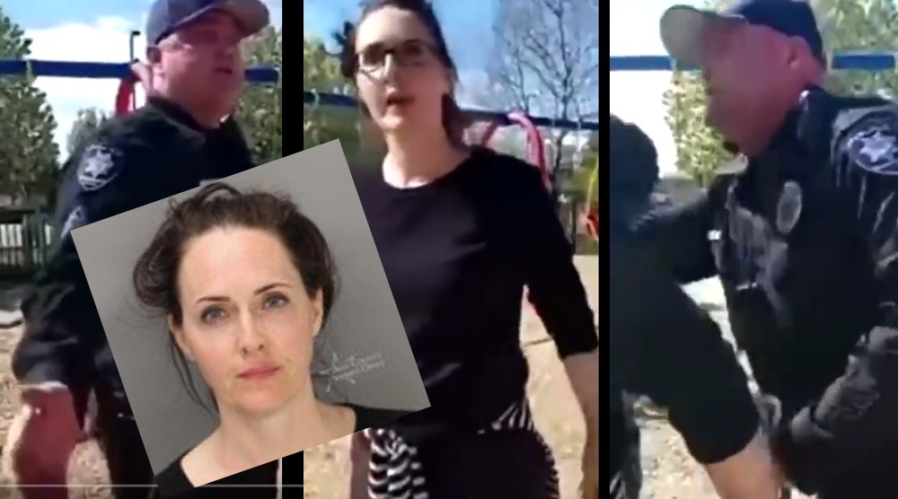 Mother Arrested At Children's Playground That Was Supposed To be Closed!?  [VIDEO]